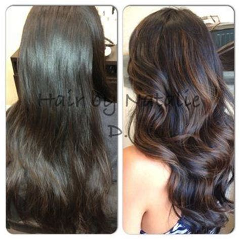 before and after pictures of balayage before and after balayage yelp beauty buzz pinterest