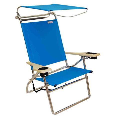beach chair with awning reclining beach chair with canopy home furniture design