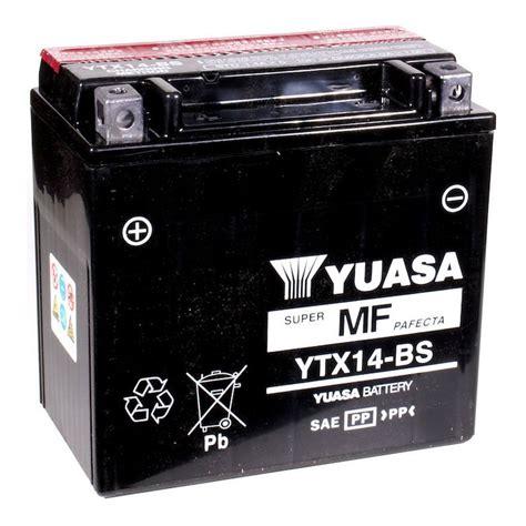 yuasa ytx bs agm battery revzilla