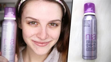 Nia Sunday Detox Ingredients Review by Nia Sunday Detox Clay Peel Mask Review Demo