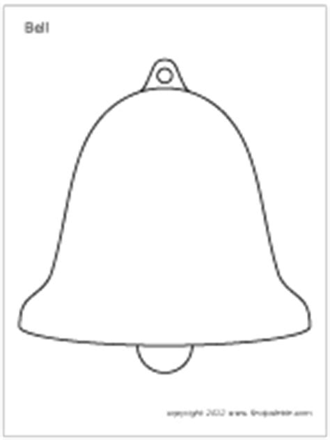 bells printable templates coloring pages