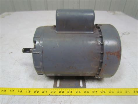 capacitor for 1 2 hp motor dayton 5k122 l 1 2hp capacitor ac electric motor 1ph 115 208 230v f56 frame ebay