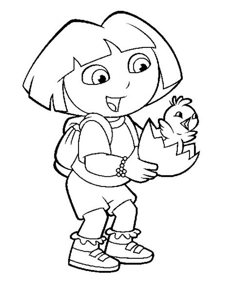 dora coloring pages free games dora coloring pages