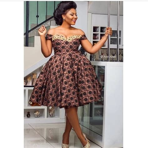Dress Gh Ankara Dresses Styles In Yen Gh