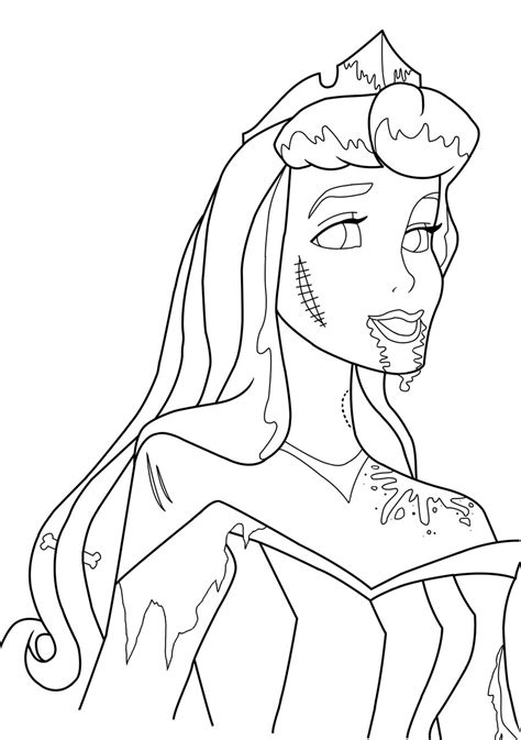 zombie sonic coloring page aurora lineart by serene shadow on deviantart
