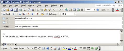 format html mailto do it how to customize mailto for multiple rec
