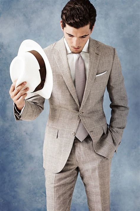 25  best Men's summer suits ideas on Pinterest   Mens