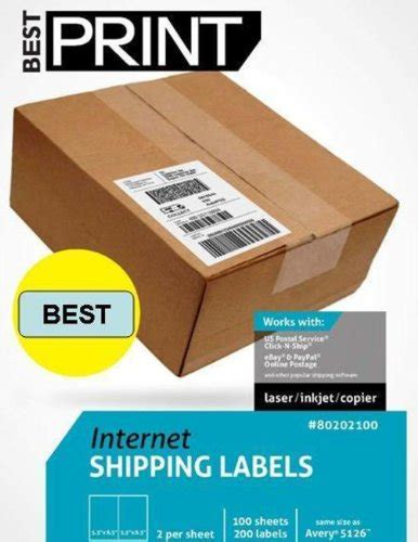 printable labels amazon purchase 200 half sheet best print shipping labels 5 1