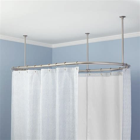 shower curtain rods oval solid brass shower curtain rod shower curtain rods solid brass and bath