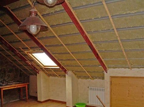 mejora aislamiento buhardilla arquitectura