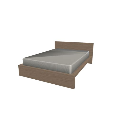 Malm Bed Frame 140x200cm Design And Decorate Your Room In 3d Ikea Malm Bed Frame