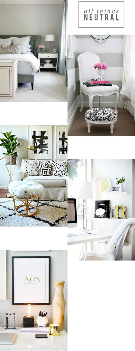 neutral home decor all things neutral alicia tenise