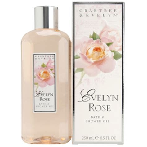 Bath And Body Shower Gel crabtree amp evelyn evelyn rose bath amp shower gel 250ml