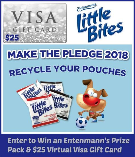 Can Visa Gift Cards Be Used Internationally - 25 visa gift card and entenmann s little bites giveaway
