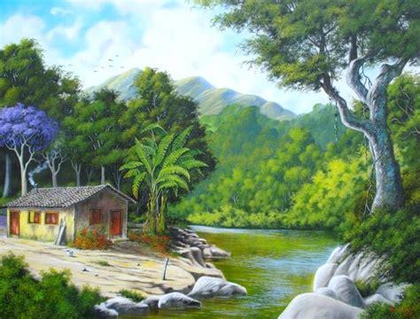 imagenes realistas e irrealistas pintura paisaje realista buscar con google pinturas