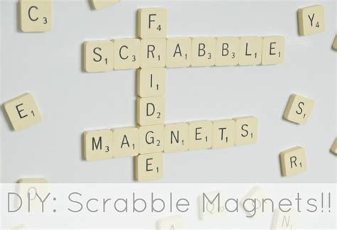 is aq a scrabble word diy scrabble fridge magnets