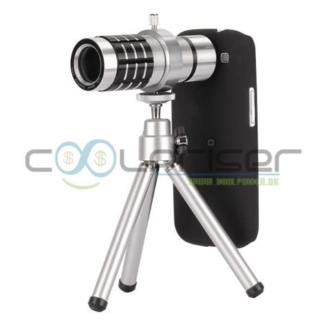 Tripod Samsung Galaxy mini tripod 12x teleobjektiv zoom til galaxy s3