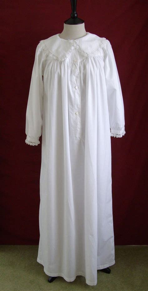 sewing pattern victorian nightgown 1880s 90s restored antique victorian nightgown nightdress