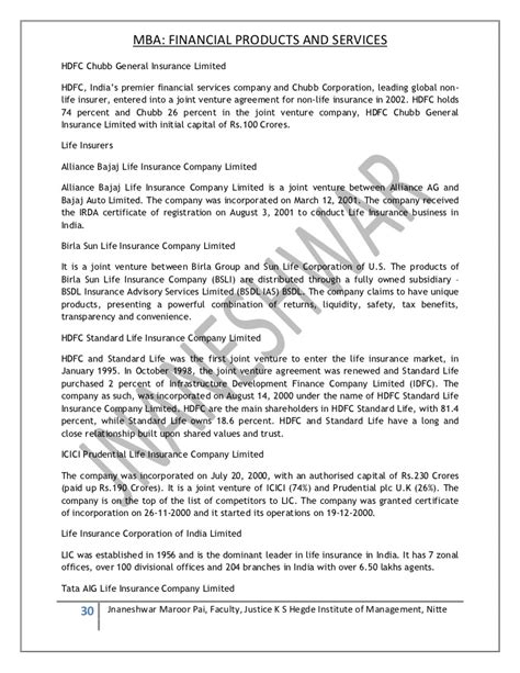Irda Notes For Mba by Banking Notes