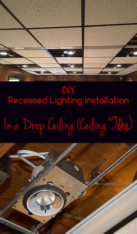 Installing Can Lights In Drop Ceiling Wiring Recessed Lights In Drop Ceiling Lighting Ideas