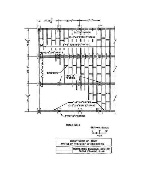 floor framing plan figure 2 14 floor framing plan