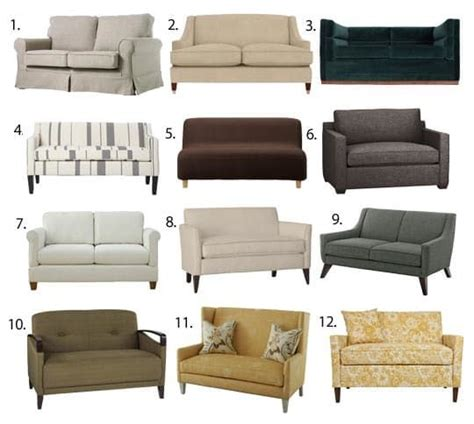 two loveseats instead of sofa 25 best small sofa ideas on