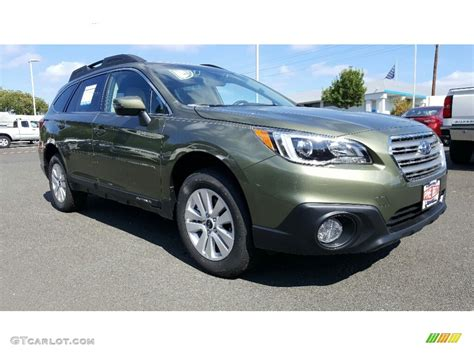 green subaru outback 2018 2017 wilderness green metallic subaru outback 2 5i premium
