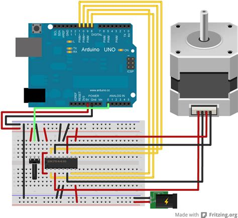 arduino accelstepper tutorial help with wiring stepper motor to div268n driver