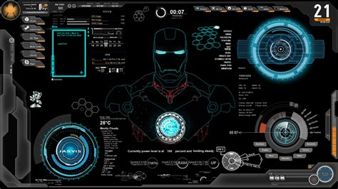 live wallpaper for pc iron man iron man jarvis wallpapers wallpaper cave