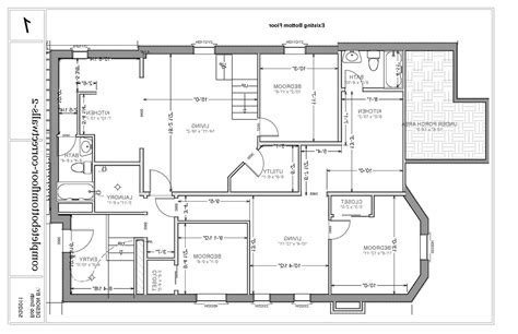 sketch floor plan architectural floor plan home design there clipgoo