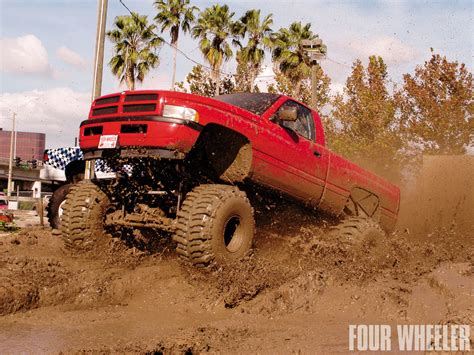 mudding trucks dodge mud trucks lifted www imgkid com the image kid