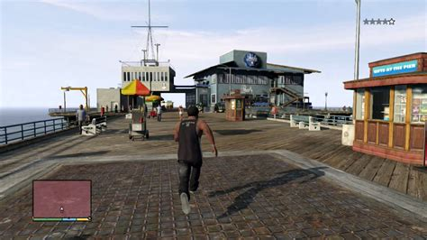pier vs dock gta v franklins pier workout youtube