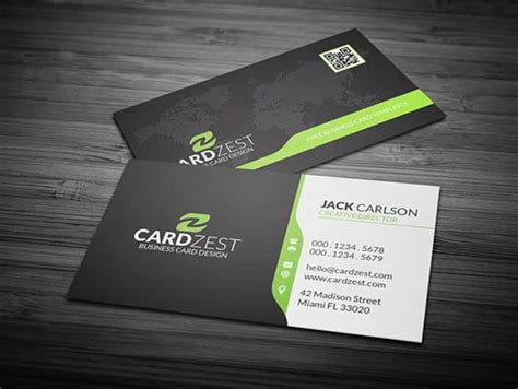 psd template business card with picture 56 free business card templates psd