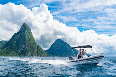 st lucia catamaran boat tours soufriere captain for a day island routes
