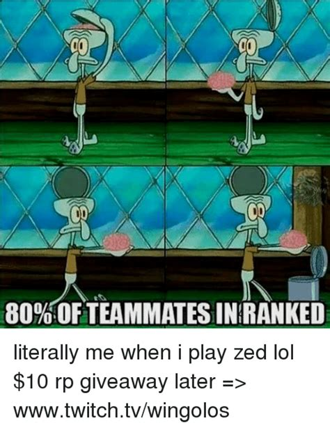 Lol Rp Giveaway - 25 best memes about zed zed memes