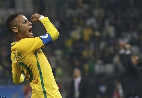 brazil 2 0 colombia neymar scores in feisty all south
