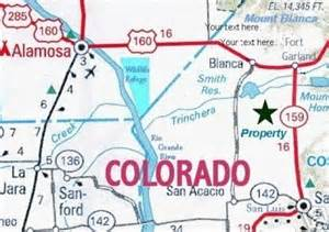 costilla county colorado map lot 12 1204m