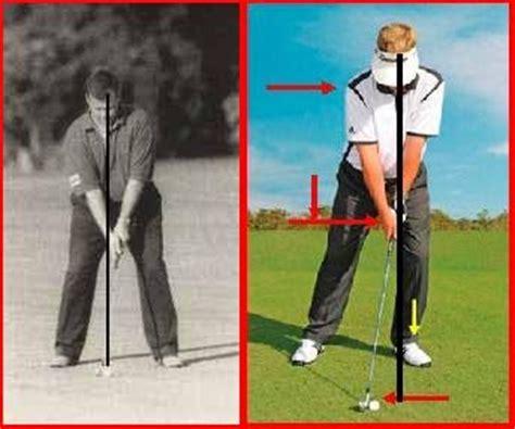 stacked golf swing george pasdirtz stack tilt setup modification for the