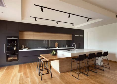 Modern Island Kitchen Useful Items As Decor In This Modern Kitchen Avi Pinterest Kitchens Modern And
