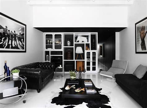 leni home design online shop 现代黑白复古别墅客厅装修效果图2014图片 太平洋家居网图库