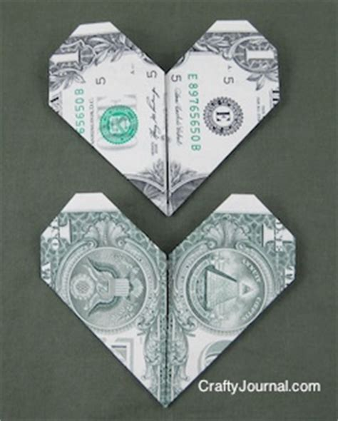 Easy Origami With Dollar Bills - easy dollar bill