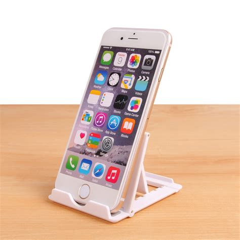 phone stand for desk foldable phone holder universal white desk mobile phone stand for iphone huawei