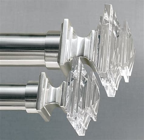 crystal curtain rod crystal curtain rods abda window fashions abda window