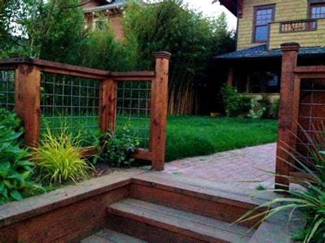 how to make a backyard residential front yard fence ideas roof fence futons