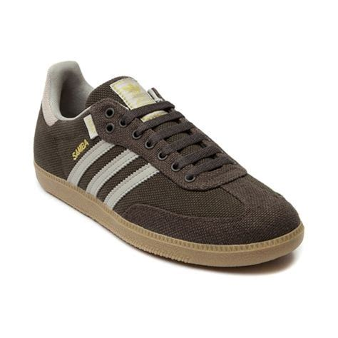 Adidas Slop Canvas Green shop for mens adidas samba hemp athletic shoe in