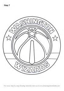 learn how to draw washington wizards logo nba step by