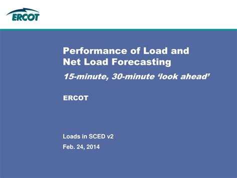 ppt performance of load and net load forecasting 15