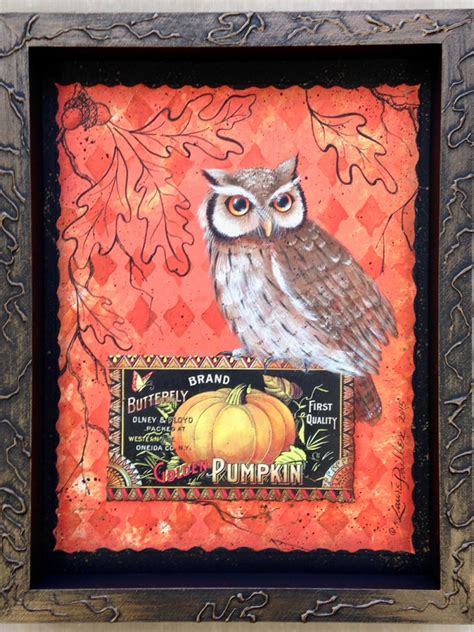 how to paint autumn egret painting packet books quot owl and oak quot e packet laure paillex and design