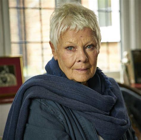 judi dench dame reveals  dropped  bomb