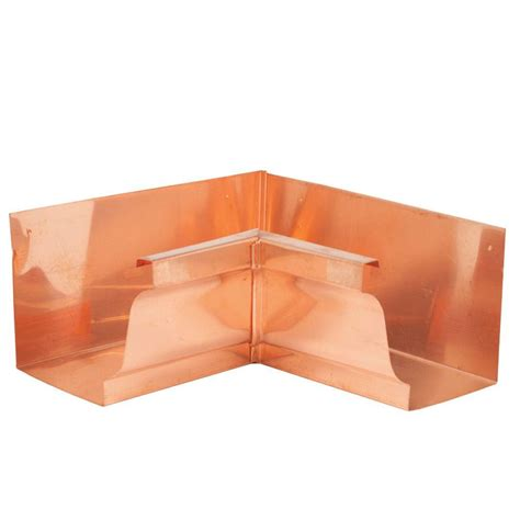 amerimax home products 6 in k style copper inside mitre